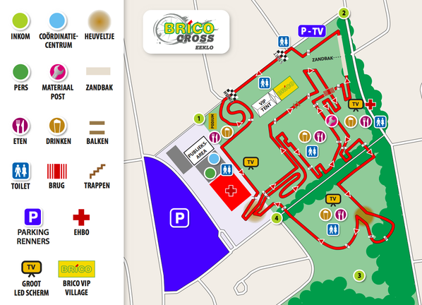 parcours Eeklo 2017