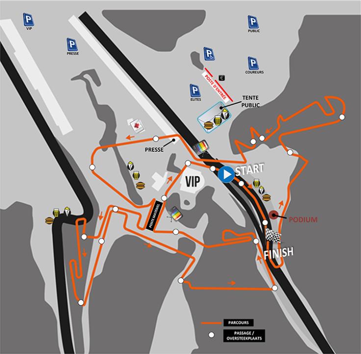 Parcours Francorchamps 2016