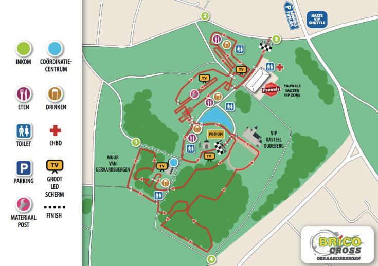 parcours Geraardsbergen 2018