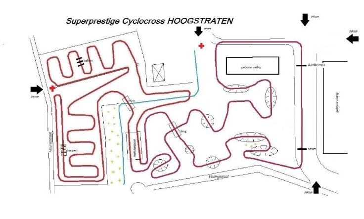 Parcours Hoogstraten 2017