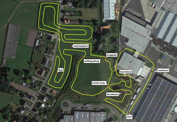 Parcours hoogstraten 2018