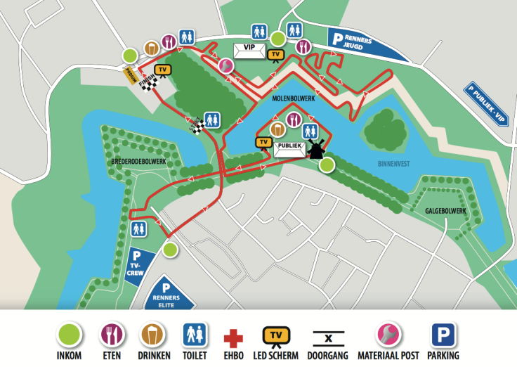 parcours Hulst 2017