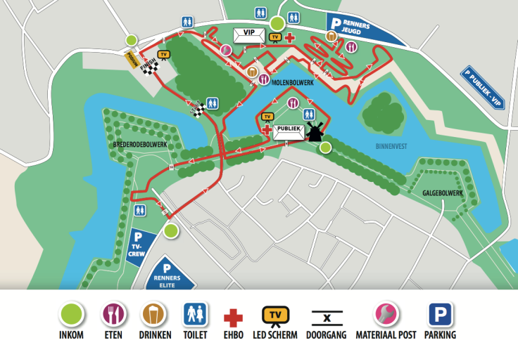 PARCOURS HULST 2018