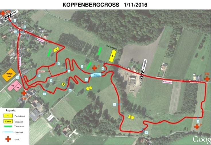 Parcours Koppenberg 2016