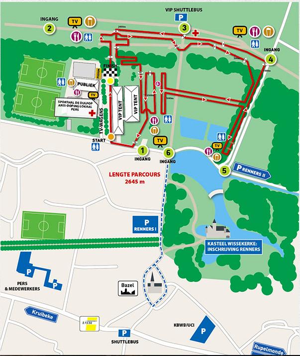 Parcours Kruibeke 2016
