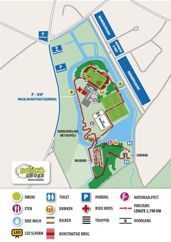 Parcours Meulebeke 2018