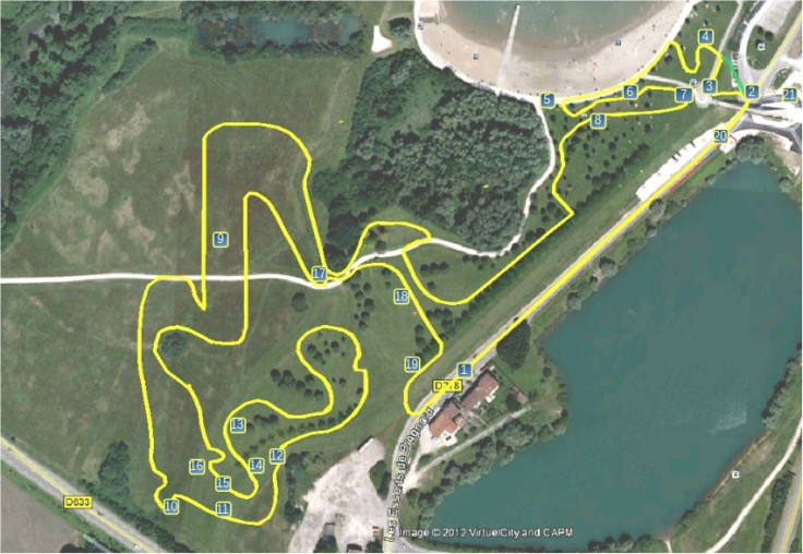 parcours nommay 2018