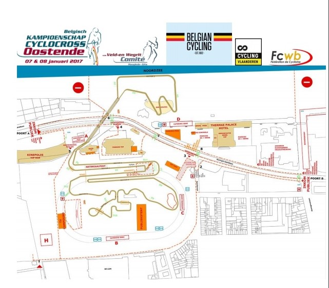 Parcours Oostende 2017