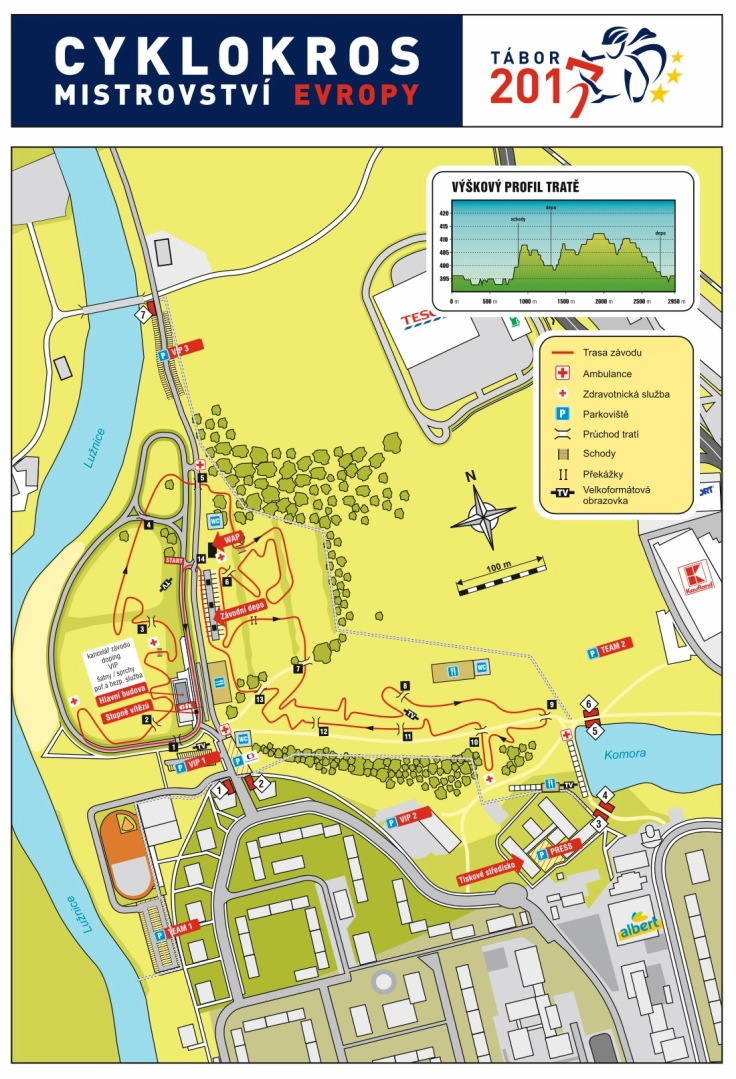 parcours Tabor 2017