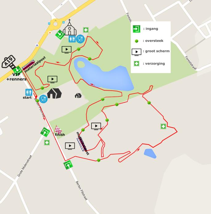 Parcours Zonnebeke 2017