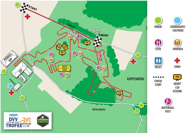 Parcours Koppenbergcross 2018