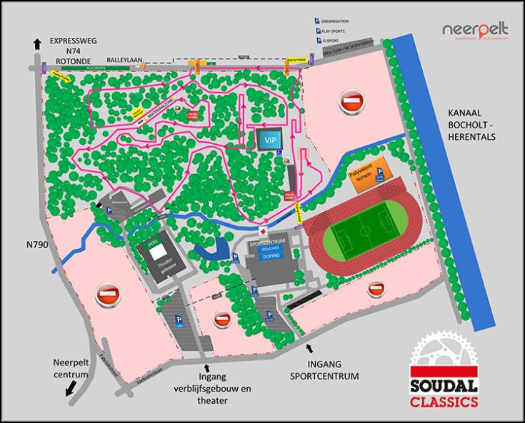 Parcours Neerpelt 2018