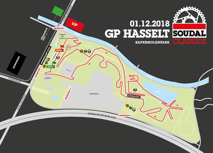 parcours Hasselt 2018