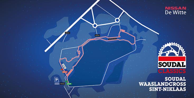 Parcour Waaslandcross Sint-niklaas 2018