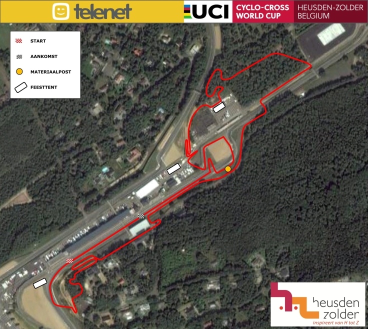 Parcours Zolder 2018