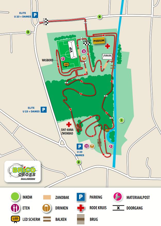 Parcours Brico Cross Maldegem 2019