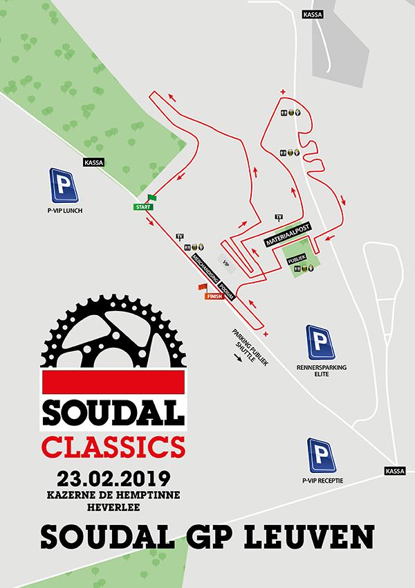 Parcours Soudal Classics Leuven 2019