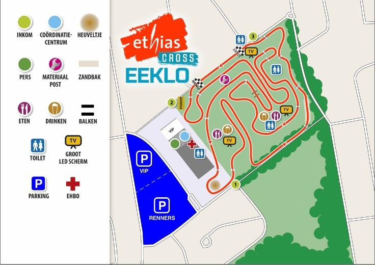 Parcours Ethias Cross Eeklo 2019