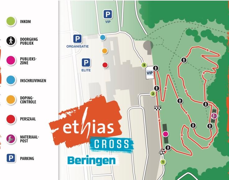 Parcours Ethias Cross Beringen 2019