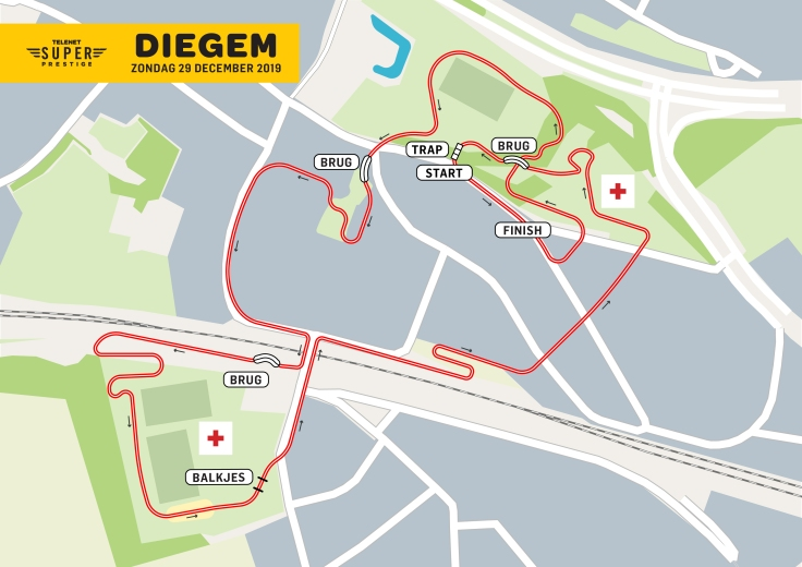 Parcours Telenet Supeprestige Diegem 2019