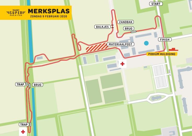 Parcours Telenet Superprestige Merksplas 2019