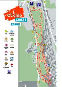 Parcours Ethias Cross Essen 2019