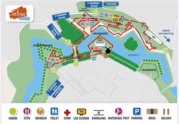 Parcours Ethias Cross Hulst 2020