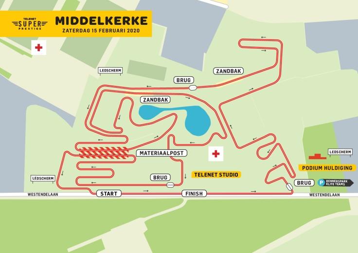 Parcours Superprestige Middelkerke 2020