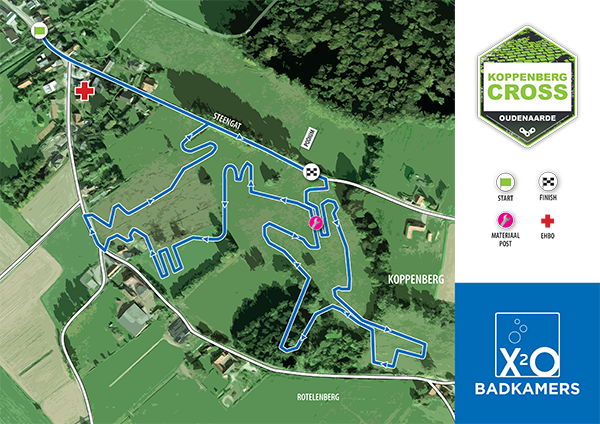 parcours Koppenbergcross 2020