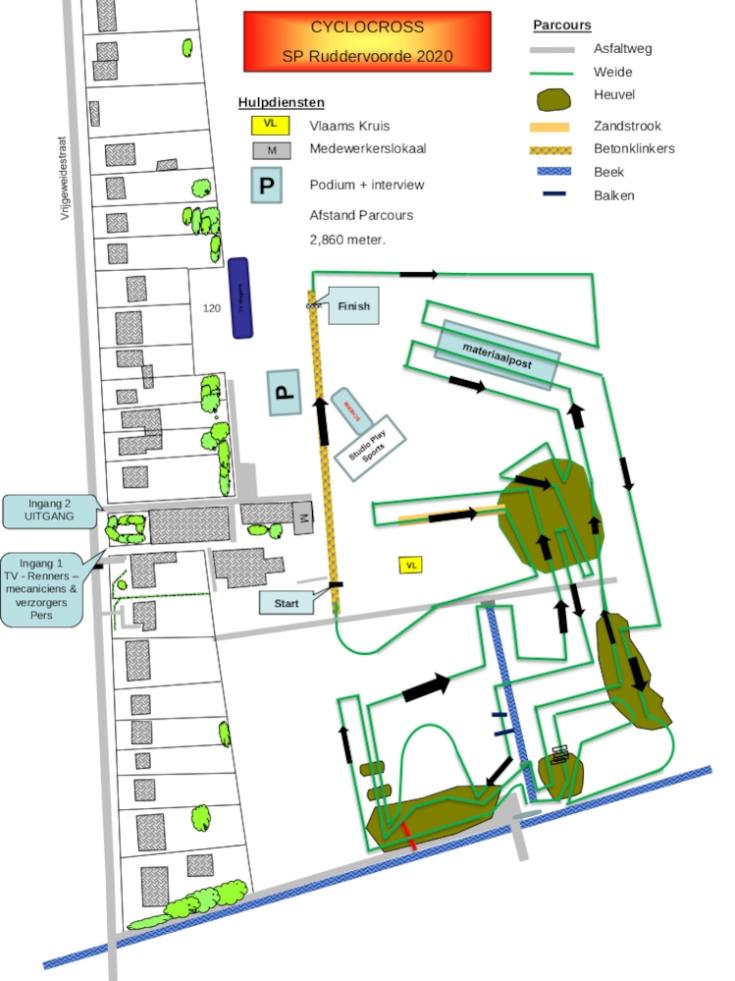 Parcours Ruddervoorde 2020