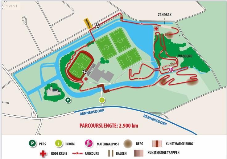 Parcours BK Meulebeke 2021