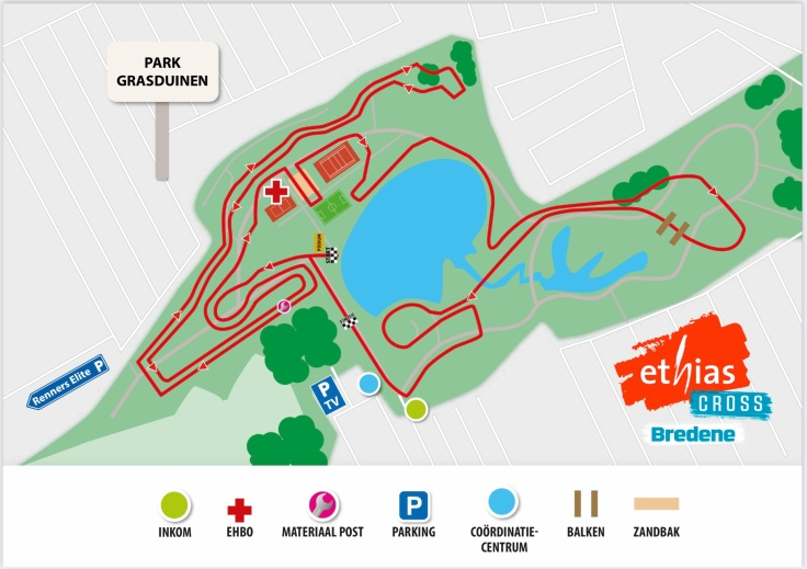 Parcours Ethias Cross Bredene 2020