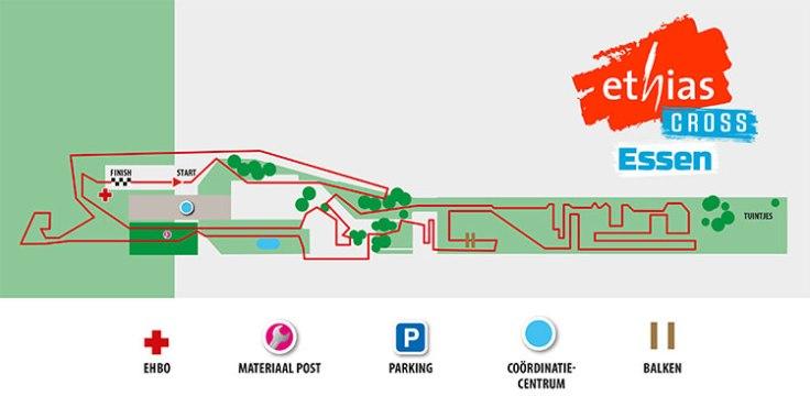 Parcours Ethias cross Essen 2020