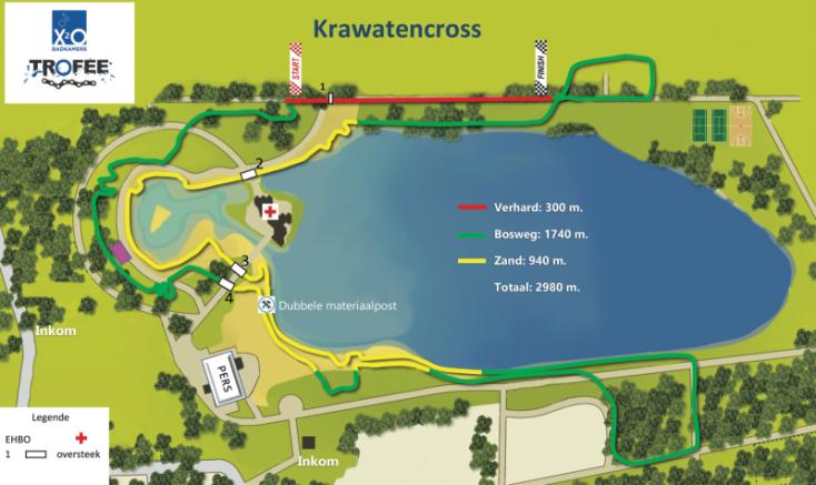 Parcours Krawatencross Lille 2021