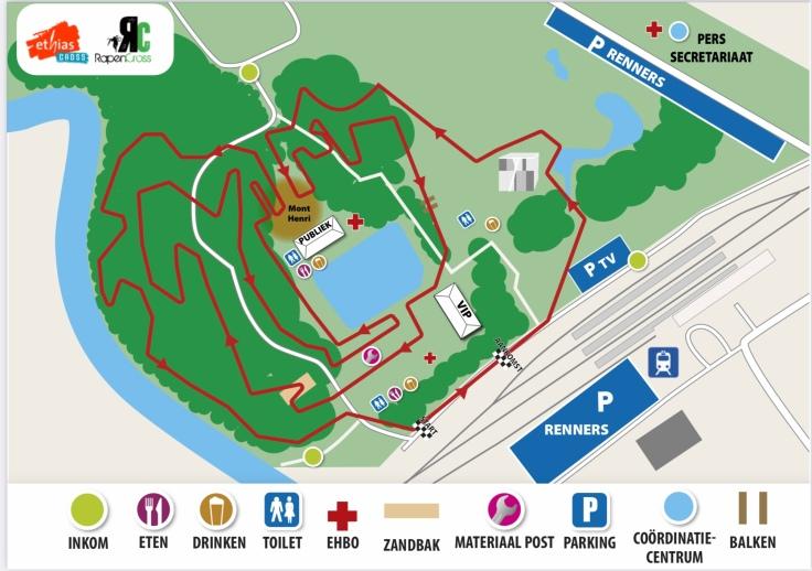 Parcours Ethias Cross Lokeren 2021