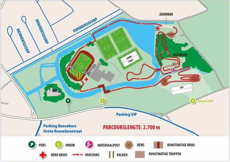 parcours ethias cross meulebeke 2021